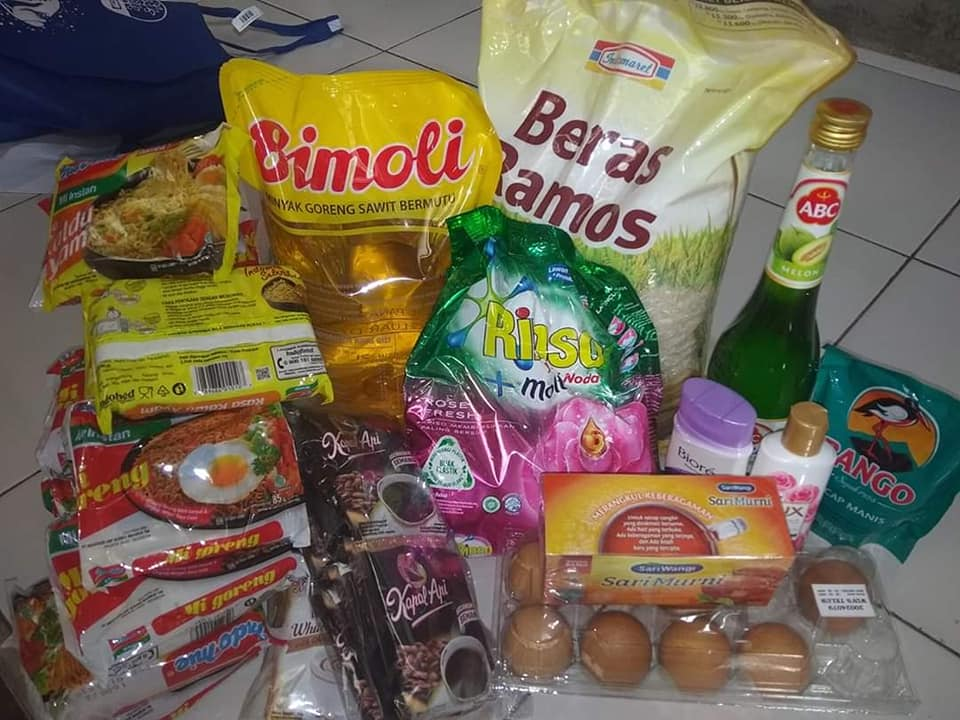 Pembagian Paket Sembako Bulan Ramadhan 1441H